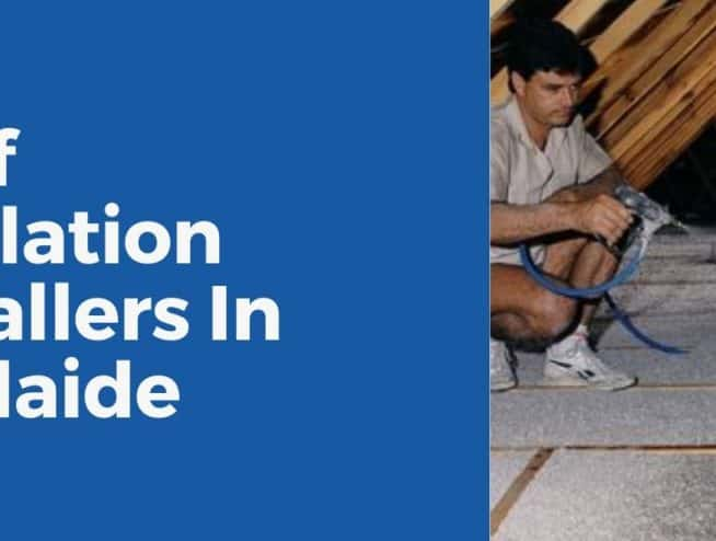 roof insulation installer in Adelaide