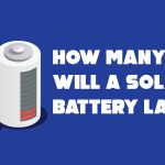 How many hours will a solar battery last