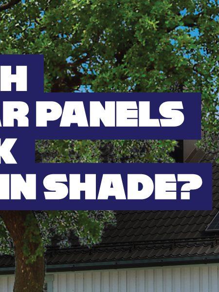 which solar panels work best in shade
